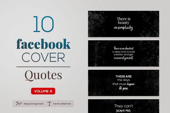Facebook Cover Quotes Vol. 6