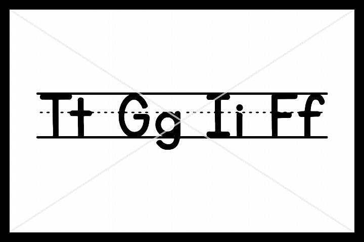 Teacher SVG, TGIF SVG, School SVG Silhouette Cameo, Cricut