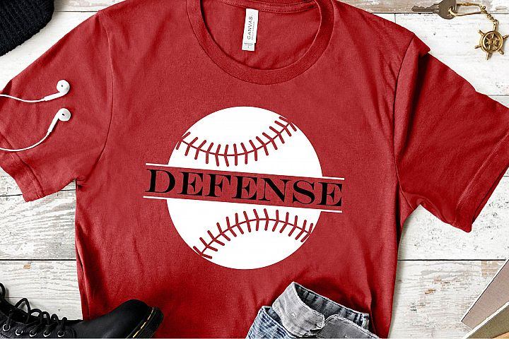 Baseball Defense SVG, Baseball Is Life Sublimation