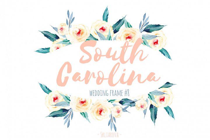 South Carolina. Wreath #8