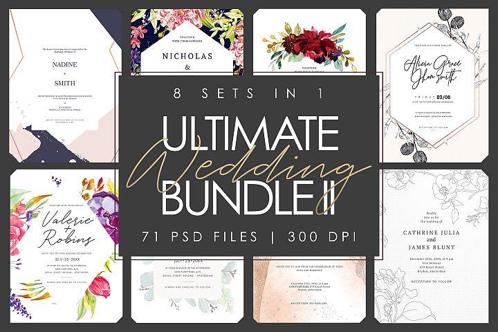 8 SET IN 1 | Ultimate Wedding Bundle II