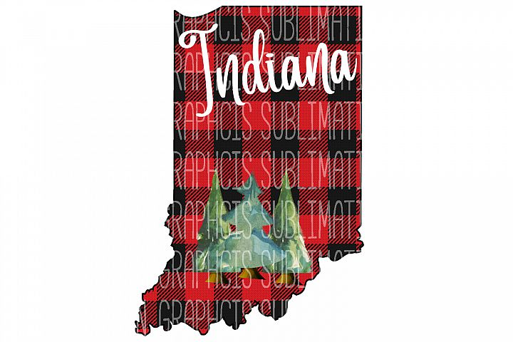 Indiana Plaid Sublimation Digital Download