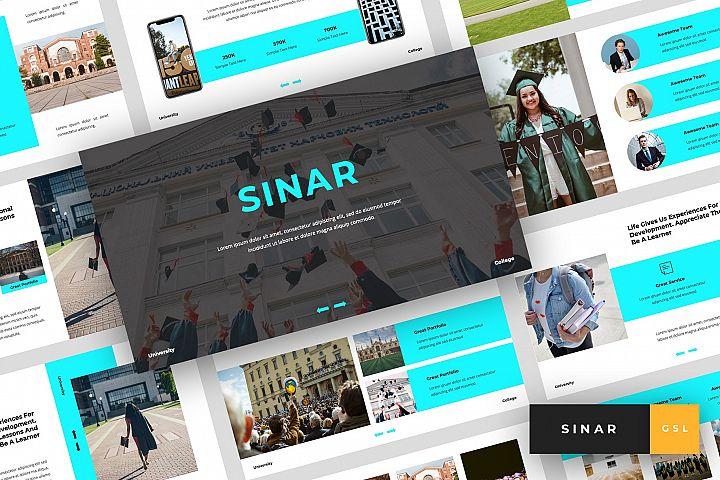 Sinar - University Google Slides Template