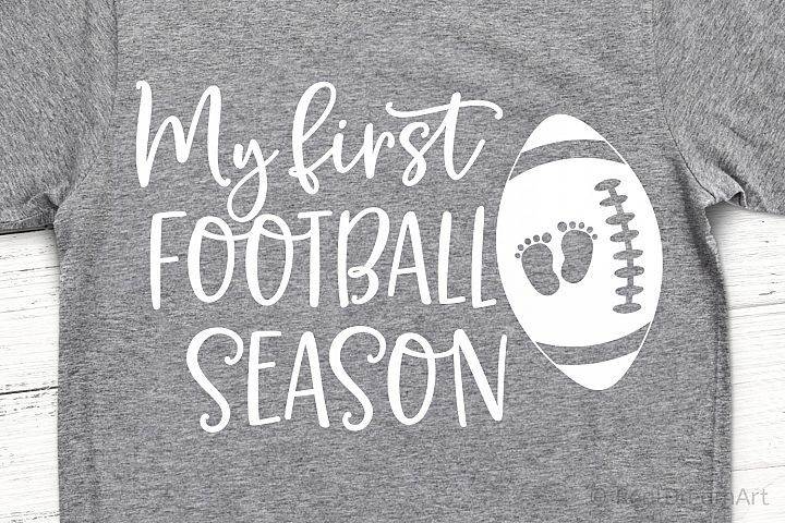 My First Football Season SVG, DXF, PNG, EPS