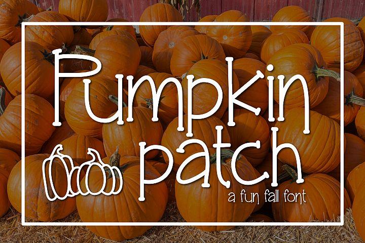 Pumpkin Patch a Fun Serif Font
