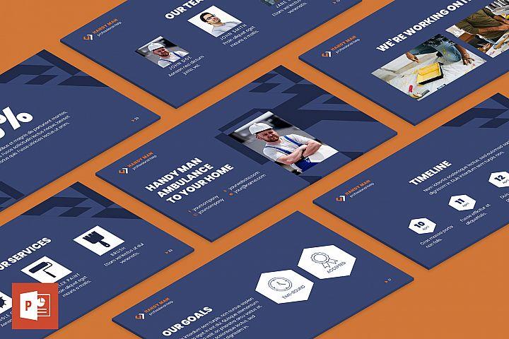 Handyman PowerPoint Presentation Template