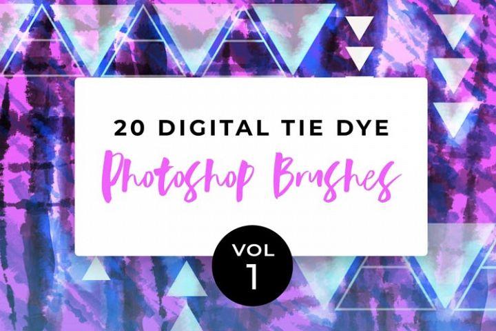 Digital Tie-Dye Brushes Vol 1