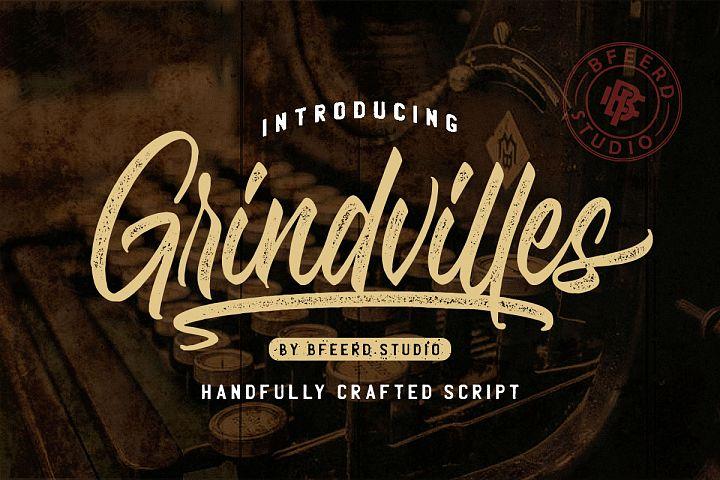 Grindvilles Font Duo