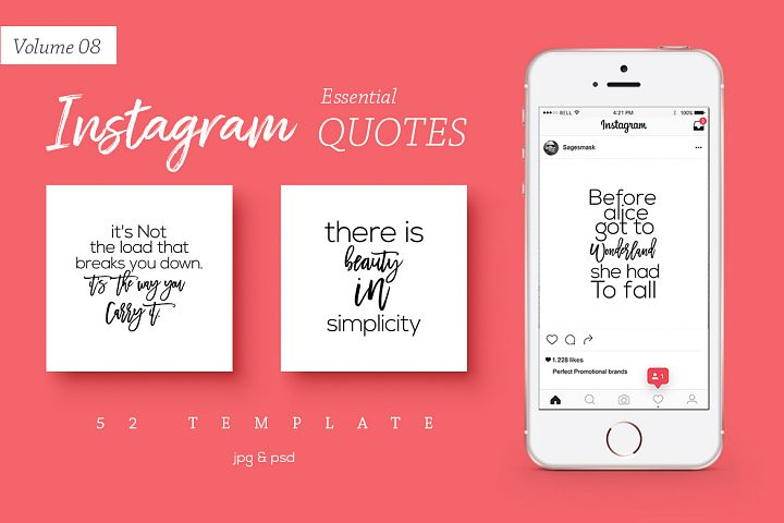 52 Instagram Essential Quotes Vol. 8