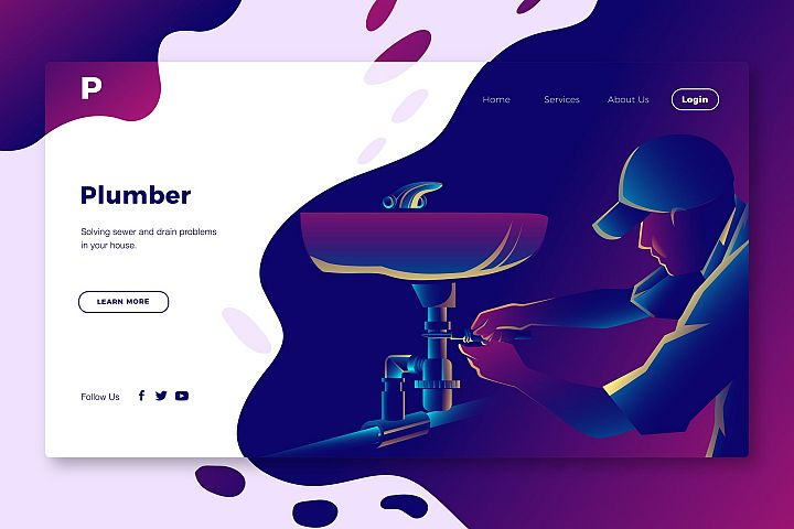 Plumber - Banner Page
