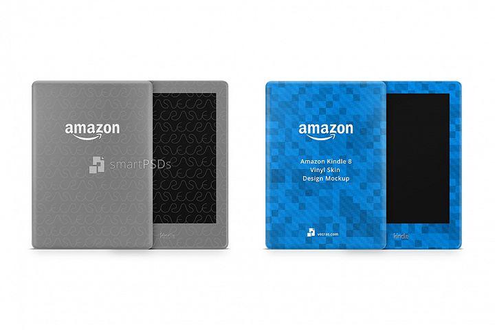 Amazon Kindle 8th Gen. Vinyl Skin Design Mockup 2016