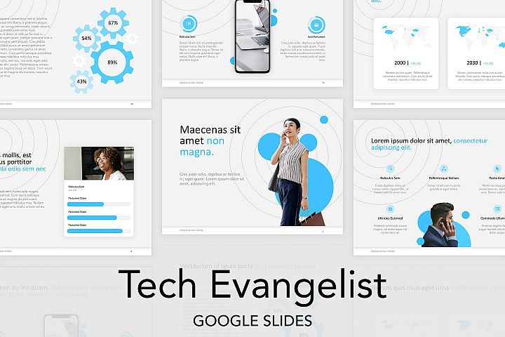 Tech Evangelist Google Slides Template