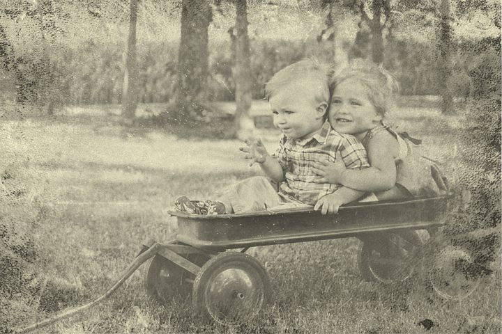 Vintage Old Photo Effect Overlays - Free Design of The Week Design 9