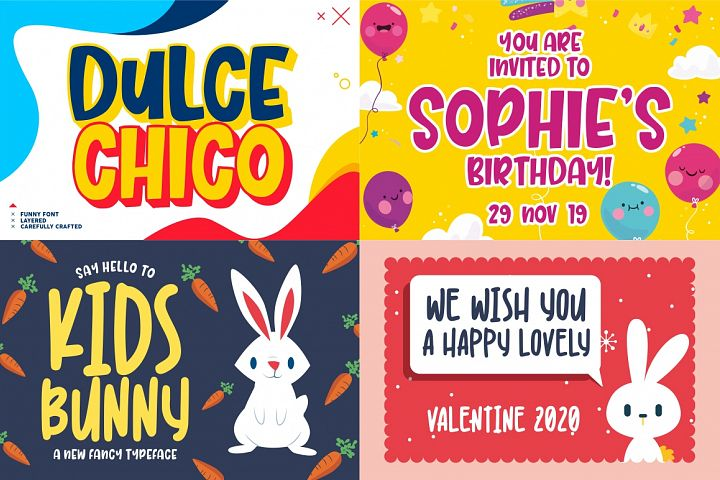 The Mega Valentine's Font Collections example image 3