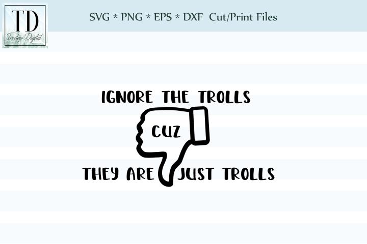 Ignore the Trolls - A Social Media SVG