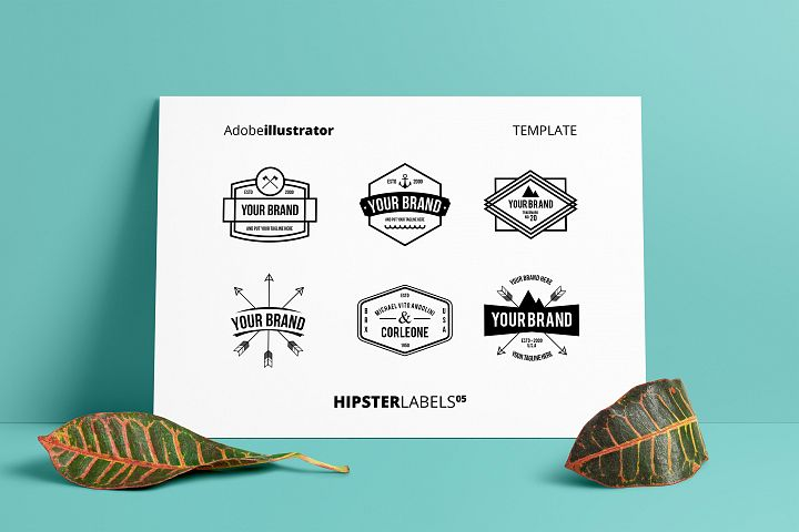Hipsters Labels 05