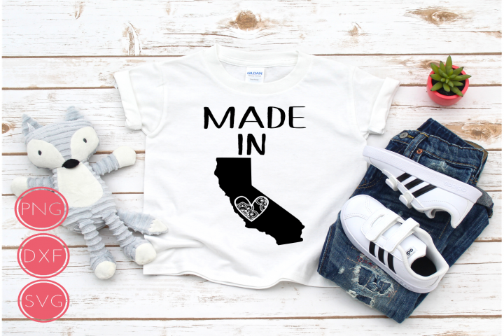 Made in California SVG