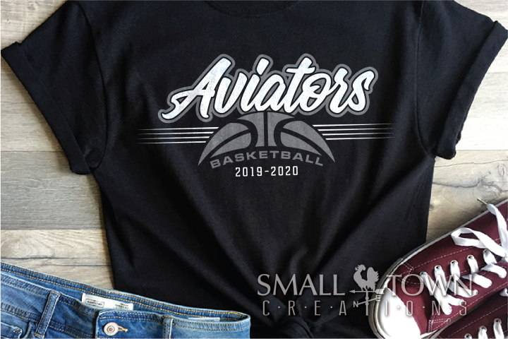Aviator, Basketball, Sports, Design, PRINT, CUT, DESIGN