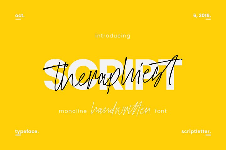 Theraphiest Font