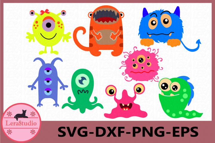 Monster SVG, Monster Clipart, Monster Party, Monsters