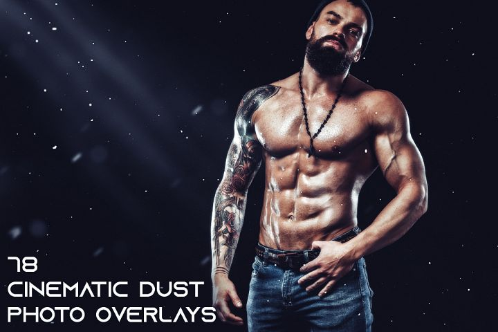 78 Cinematic Dust Photo Overlays