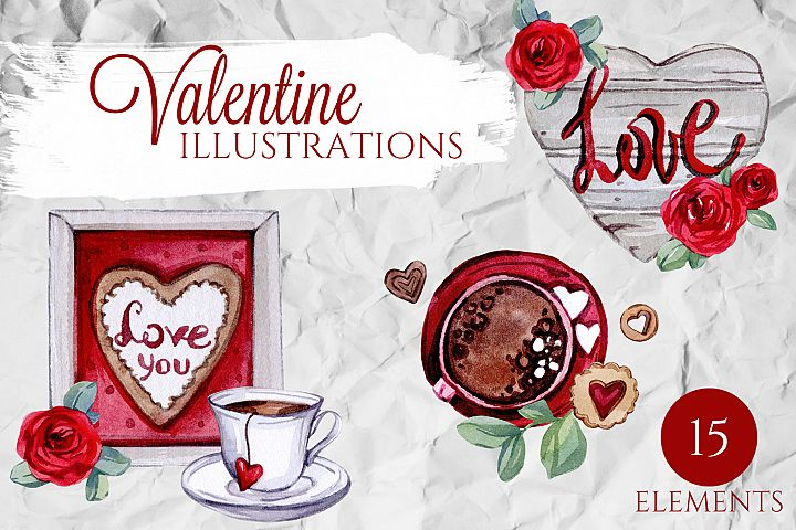 Valentine ILLUSTRATIONS