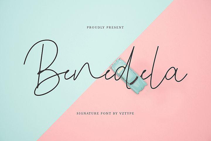Benedela Signature