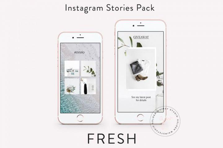 Fresh Insta Stories