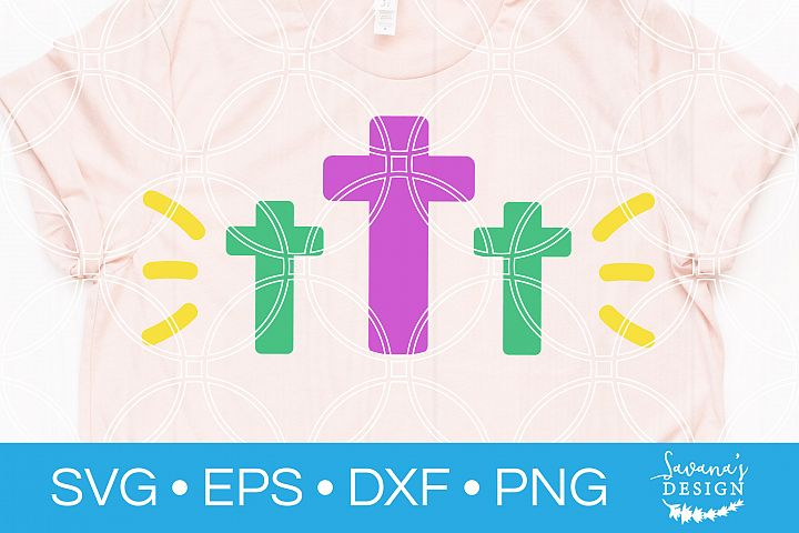 Easter Cross SVG Good Friday SVG Jesus SVG Resurrection