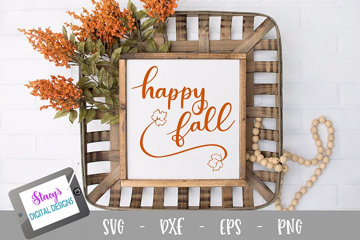 Happy fall SVG - Fall svg design