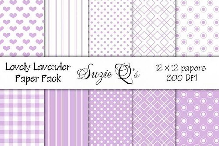 Lovely Lavender Paper Pack