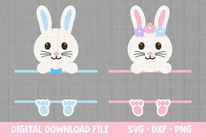 Easter SVG files for Cricut / Easter Bunny SVG Cut Files