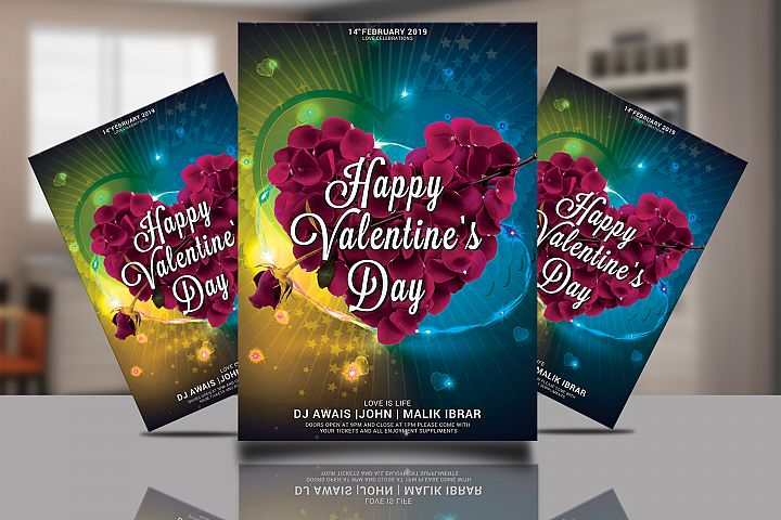 Valentines Flyer Poster