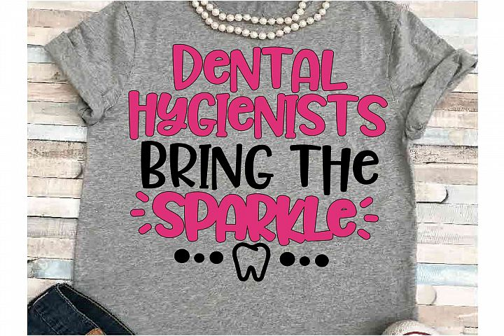 Dental Hygienist SVG DXF JPEG Silhouette Cameo Cricut teeth