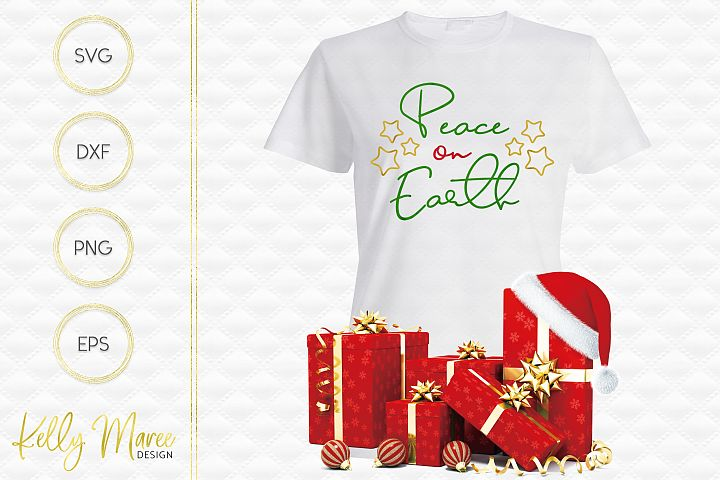 Peace on Earth SVG File