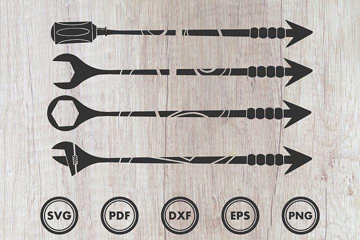 Arrow Mechanic svg, Engineering, Technic, clip art, Cut file