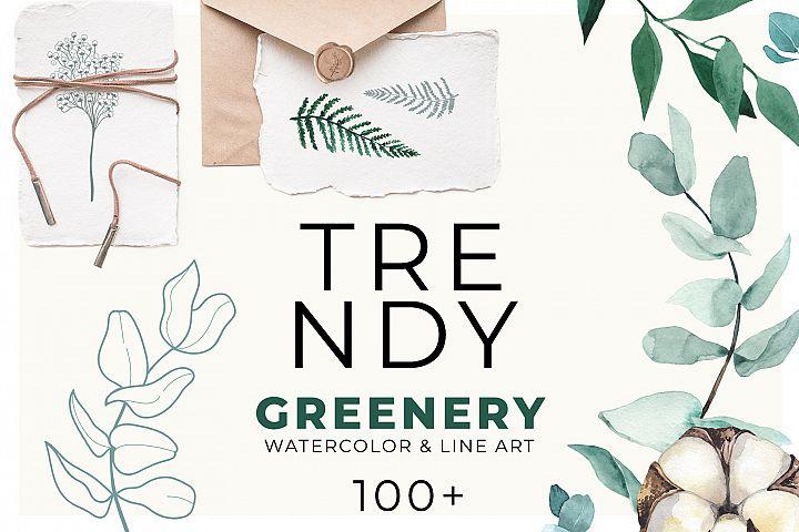 TRENDY GREENERY