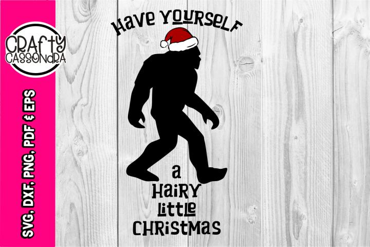 Bigfoot svg - bigfoot silhouette - Sasquatch - Christmas svg