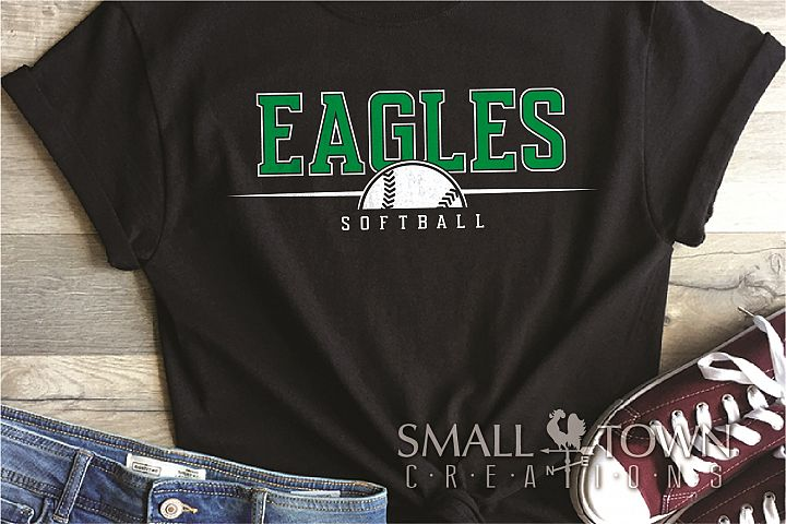 Eagle, Eagle Softball, Team, logo, PRINT, CUT & DESIGN