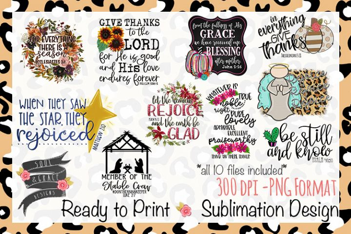 Bible Verse Quote Bundle