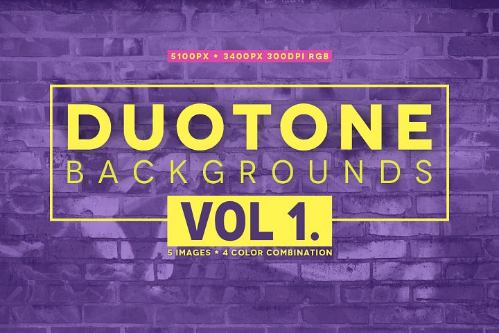 20 Duotone backgrounds