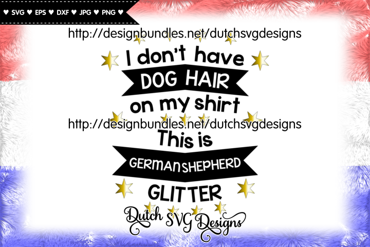 Cutting file Dog Hair German Shepherd, german shepherd svg