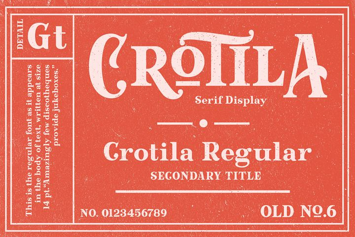 Crotila - Serif Display