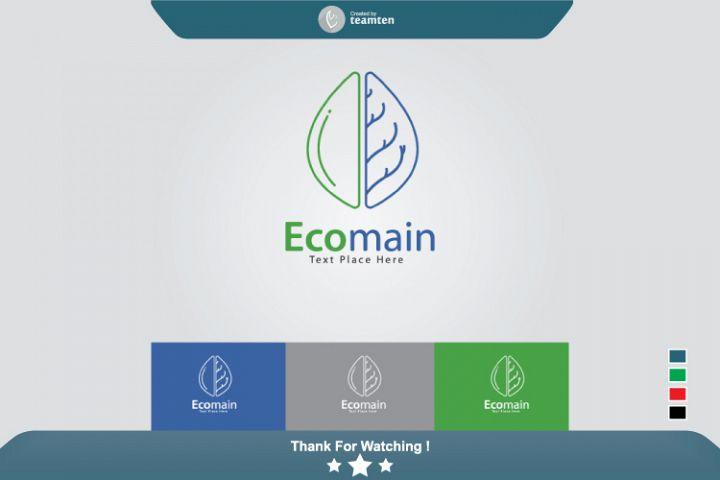Ecomain Logo Concept