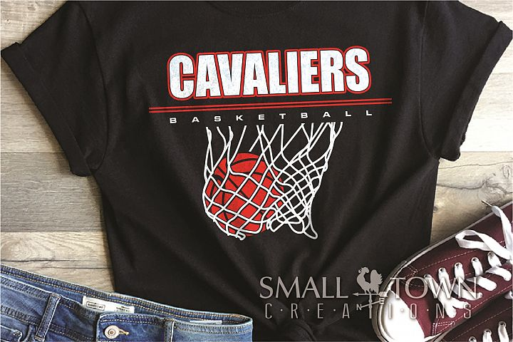 Cavalier, basketball, Sports,Team, PRINT, CUT & DESIGN