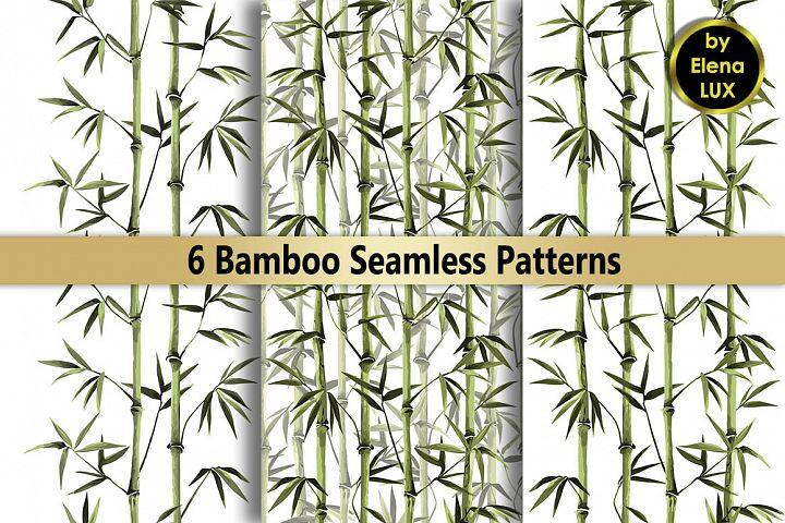 Green Bamboo Seamless Set