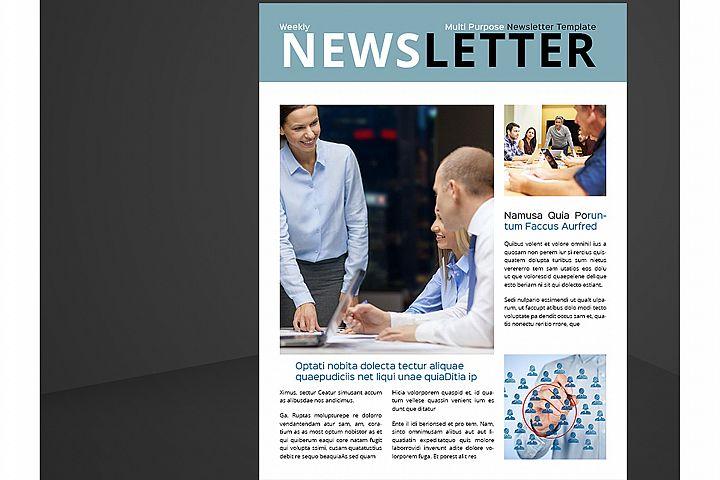 Letter & US Letter Newsletter