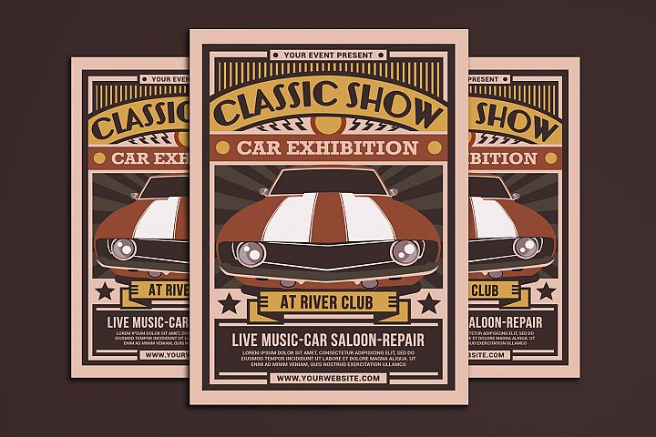 Classic Show Car Exhibition