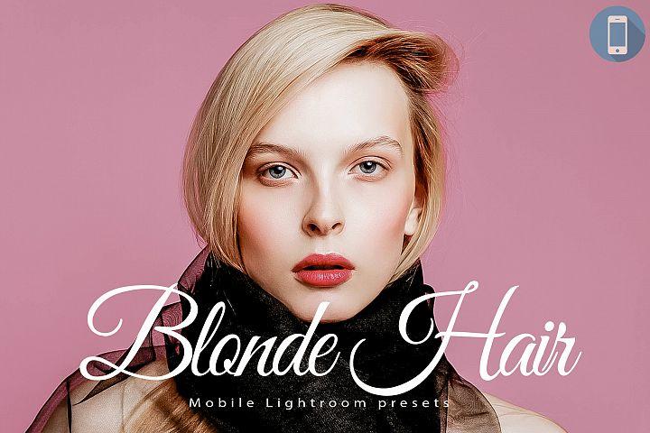 14 Blonde Hair Mobile Lightroom Presets