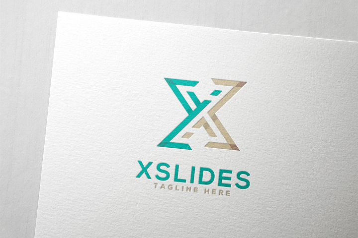 X Slide Letter X Logo